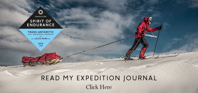 Lou Rudd link to Shackleton Spirit of Endurance Expedition page